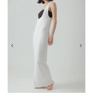 EDIT.FOR LULU - yo biotop lingerie long knit dress