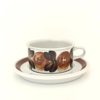 アラビア(ARABIA)のアラビア ARABIA ロスマリン Rosmarin カップ & ソーサー(グラス/カップ)
