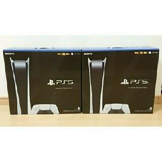 SONY - PS5 PlayStation5 本体 デジタルエディション 2台