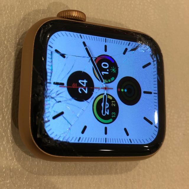 Apple Watch(アップルウォッチ)のApple watch 5 アップル 本体 アップルウォッチ セルラー GPS メンズの時計(腕時計(デジタル))の商品写真