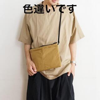 ムジルシリョウヒン(MUJI (無印良品))の新品 無印 メンズ インド綿洗いざらし布帛Tシャツ S~M 黒(Tシャツ/カットソー(半袖/袖なし))