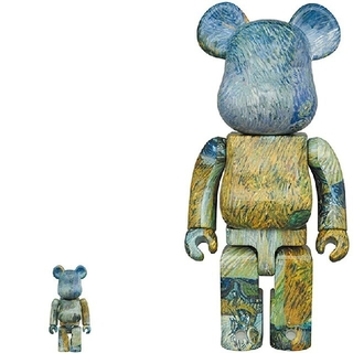 BE@RBRICK  Van Gogh  鳥獣人物戯画 100%400%(フィギュア)