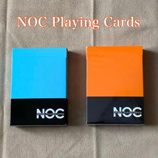 NOCデック2組 水色・オレンジ(トランプ/UNO)