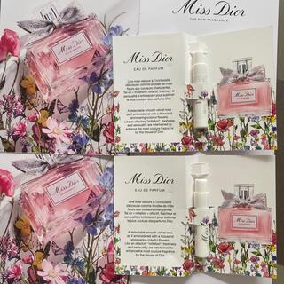 ディオール(Dior)のDior ミスディオール オードゥパルファン 香水 サンプル2個(サンプル/トライアルキット)