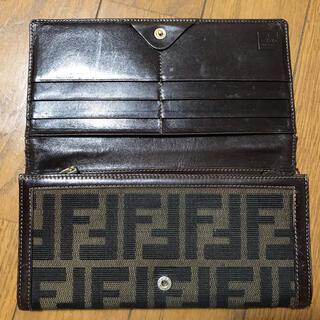 フェンディ(FENDI)の状態要確認 フェンディ ズッカ柄 長財布(財布)