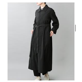 ヤエカ(YAECA)のTHE HINOKI コートドレス(ロングワンピース/マキシワンピース)