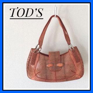 トッズ(TOD'S)の【TOD'S】トッズ おしゃれなパイソン柄 ミニハンドバッグ(ハンドバッグ)