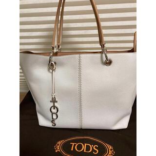 トッズ(TOD'S)の極美品!保存袋付 トッズ 2wayバッグ ショルダー トートバッグ レザー(ショルダーバッグ)