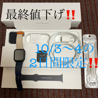 Apple Watch - Apple Watch series 5 44mm GPS モデル