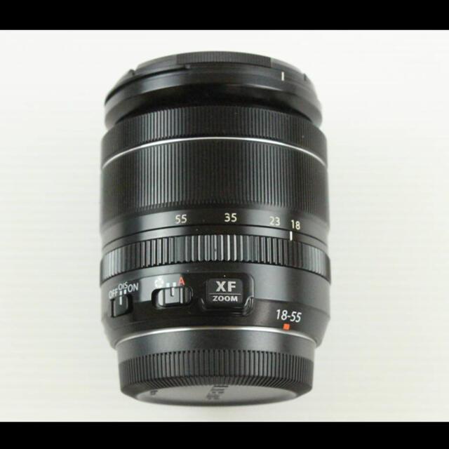 富士フイルム(フジフイルム)のFUJIFILM XF18-55mm F2.8-4 +レンズプロテクター スマホ/家電/カメラのカメラ(レンズ(ズーム))の商品写真