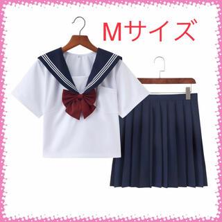 【Mサイズ】半袖セーラー服 コスプレ 女子高校生  JK制服  可愛い