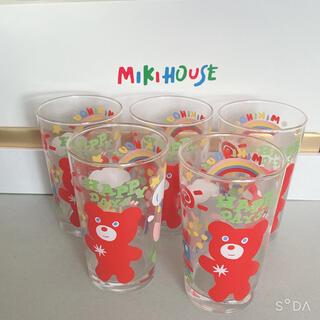 ミキハウス(mikihouse)のお値下げ致します。MIKIHOUSEグラス5組です(ᐡᴗ  ̫ ᴗᐡ)(グラス/カップ)