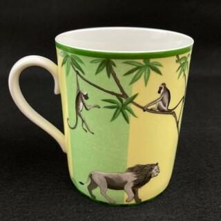 エルメス(Hermes)の希少 ◆ HERMES アフリカ マグカップ(グラス/カップ)