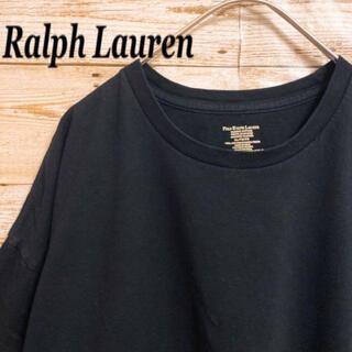ポロラルフローレン(POLO RALPH LAUREN)の《刺繍ロゴ》ポロラルフローレン POLO RALPH LAUREN 黒色 半袖(Tシャツ/カットソー(半袖/袖なし))