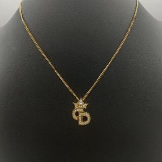 Christian Dior - G-349美品 Christian Dior / ディオール CDロゴネックレス