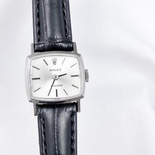 ロレックス(ROLEX)の【仕上済/ベルト2色】ロレックス プレシジョン スクエア レディース 腕時計(腕時計)