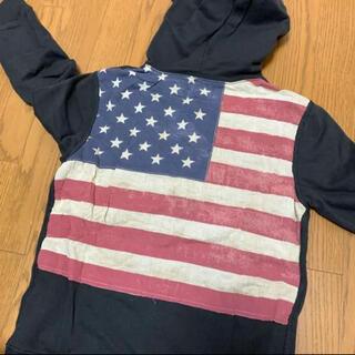 Denim & Supply Ralph Lauren - パーカー used加工 アメリカ 国旗