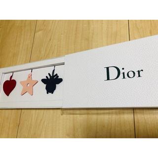 ディオール(Dior)の非売品 DIOR バッグチャーム3種(バッグチャーム)
