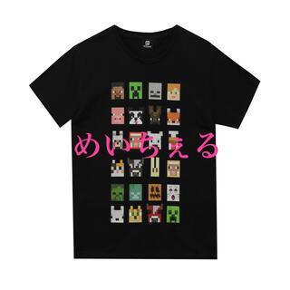 マイクロソフト(Microsoft)の【新品】ブラック Minecraft Tシャツ(Tシャツ/カットソー)
