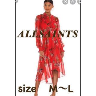 オールセインツ(All Saints)のLEONIE MELISMA DRESS(ロングワンピース/マキシワンピース)