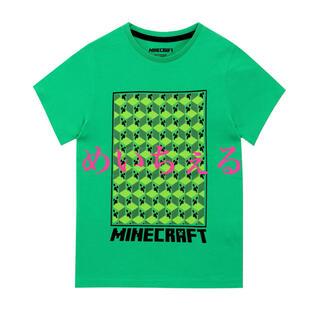 マイクロソフト(Microsoft)の【新品】Green Creeper Minecraft Tシャツ(Tシャツ/カットソー)