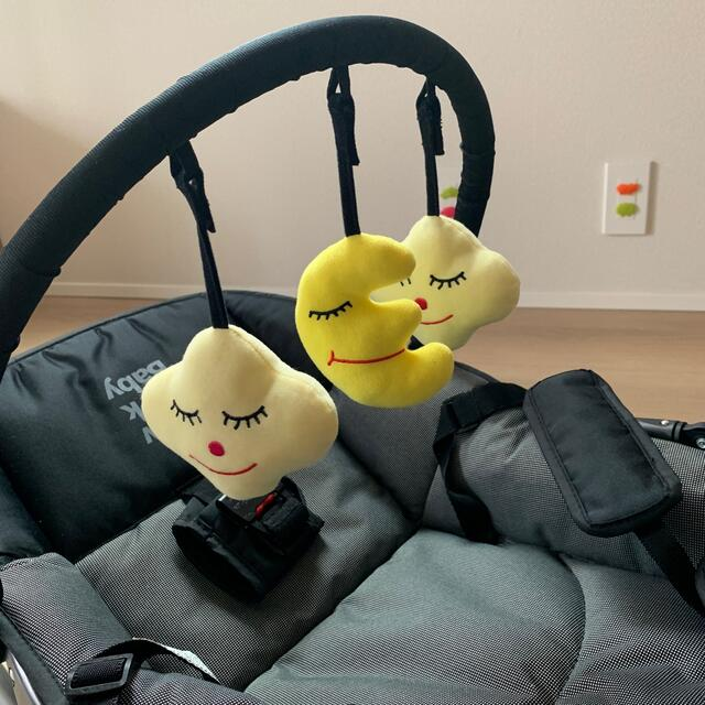 KATOJI(カトージ)のKATOJI バウンサー New York Baby ブラック キッズ/ベビー/マタニティの寝具/家具(その他)の商品写真