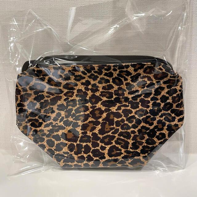Herve Chapelier(エルベシャプリエ)のグリーンレーベル別注 エルベシャプリエ ミニポシェット レオパード レディースのバッグ(ショルダーバッグ)の商品写真