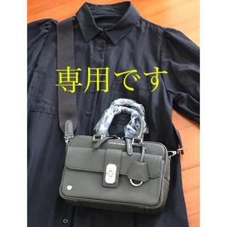 A.D.M.J. - 【新品・未使用】ADMJ アールデコモチーフ ボストンバッグ