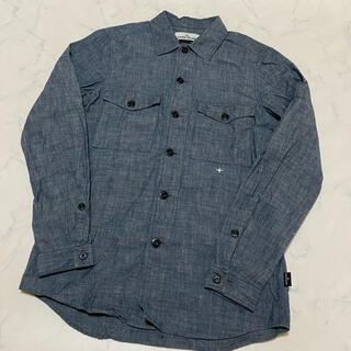 STONE ISLAND - 正規保証 国内正規品 中古 18SS ストーンアイランド デニム染め 長袖シャツ