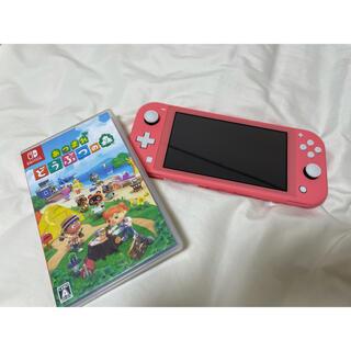 Nintendo Switch - 【お値下げ】Nintendo Switch Lite+あつまれどうぶつの森