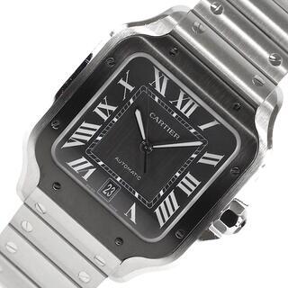 Cartier - カルティエ Cartier サントスLM 腕時計 メンズ【中古】
