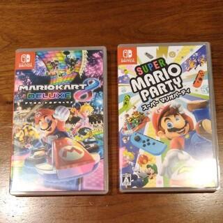 Nintendo Switch - マリオカート8デラックス マリオパーティ 任天堂スイッチソフト switch