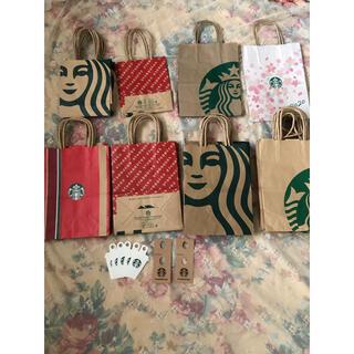 スターバックスコーヒー(Starbucks Coffee)のスターバックス 紙袋 ショッパー ショップ袋(ショップ袋)