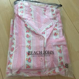 ピーチジョン(PEACH JOHN)の☆ピーチジョン☆新品 パジャマ☆ピンク色花柄(ルームウェア)