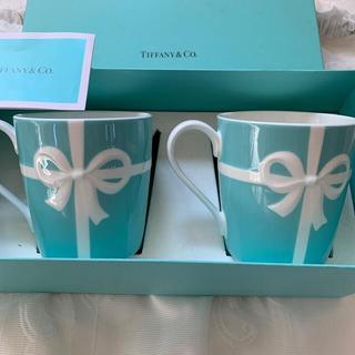 Tiffany & Co. - Tiffanyティファニー ペアマグカップ ブルーリボン レア廃盤