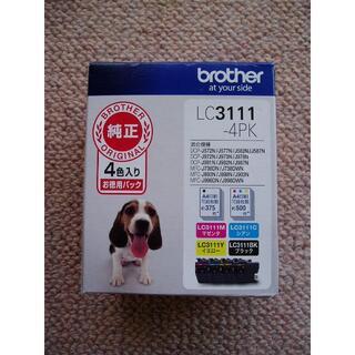 ブラザー(brother)の【純正品】brother インクカートリッジ LC3111-4PK(PC周辺機器)