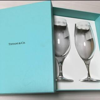 Tiffany & Co. - ティファニー Tiffany&Co. ルミナス ピルスナーグラス ペア