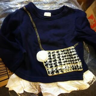 プティマイン(petit main)のプティ♡長袖トップス(Tシャツ/カットソー)