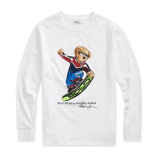 ポロラルフローレン(POLO RALPH LAUREN)の新品ポロラルフローレン/スノーボードベアが可愛い♪長袖Tシャツ5 (110)(Tシャツ/カットソー)