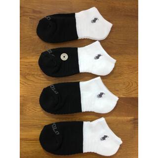 Ralph Lauren - 新品ポロラルフローレン レディースソックス 靴下 4足セット411