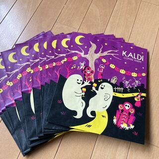 カルディ(KALDI)のカルディ ハロウィンショッパー 10枚(ショップ袋)