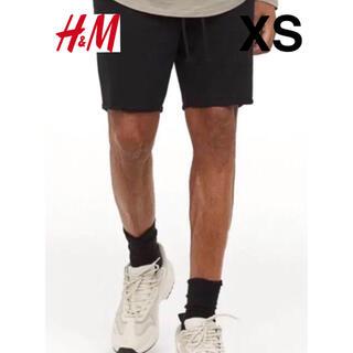 H&M - 新品 安値 H&M カットオフ 切りっぱなし スウェット ショートパンツ XS