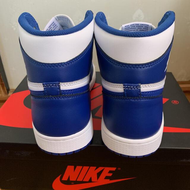 NIKE(ナイキ)のナイキ エアジョーダン1 レトロストームブルー メンズの靴/シューズ(スニーカー)の商品写真