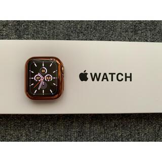 Apple Watch - Apple Watch SE ゴールド 40mm 保護カバー付き 極美品