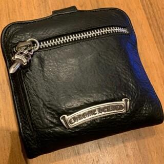 Chrome Hearts - クロムハーツ  スクエアボタンビルウォレット 財布