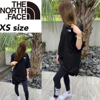 ザノースフェイス(THE NORTH FACE)のノースフェイス Tシャツ ドレス NF0A55AP ワンピース ブラック XS(ひざ丈ワンピース)