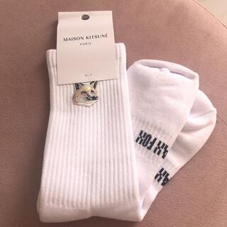 MAISON KITSUNE' - メゾンキツネ 靴下