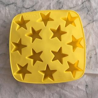 イケア(IKEA)の☆IKEA☆氷ケース☆シリコン 星型(調理道具/製菓道具)