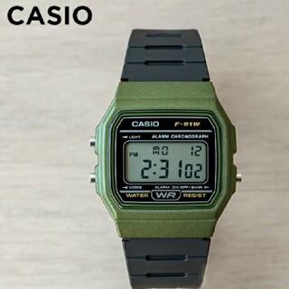 CASIO - 【新品】チープカシオ ベゼル カーキ カシオ デジタル腕時計