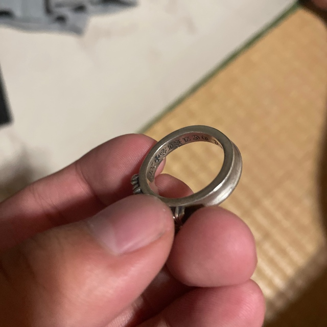Chrome Hearts(クロムハーツ)のクロムハーツ リング 19号 Chrome hearts メンズのアクセサリー(リング(指輪))の商品写真